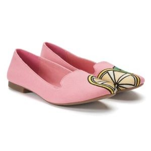 SO Pink Lemon Flats NWT from Kohl's